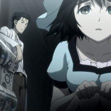 Steins;Gate: una scena dell'anime