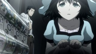 Steins;Gate: una scena dell'anime
