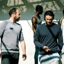 Tueurs: Oliver Gourmet e Virgile Bramly in una scena del film