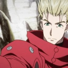 Trigun: Vash in una scena dell'anime