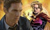 """Guardiani della Galassia 3, Gunn: """"Matthew McConaughey è troppo vecchio per Adam Warlock"""""""