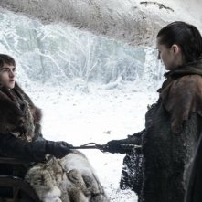 Il trono di spade: Bran e Arya in The Spoils of War