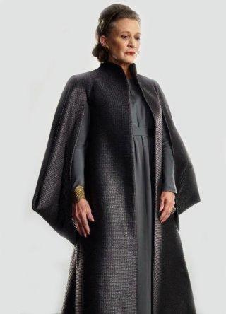 Star Wars: Gli Ultimi Jedi un'immagine di Carrie Fisher