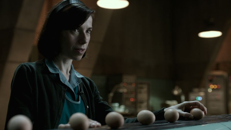 The Shape of Water: Sally Hawkins in una foto del film