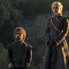 Il Trono di Spade: Peter Dinklage ed Emilia Clarke in Eastwatch