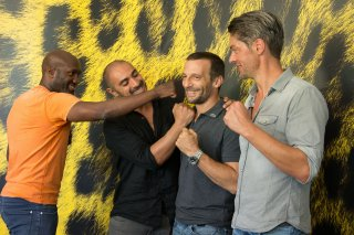 Sparring: Mathieu Kassovitz e il cast a Locarno 2017