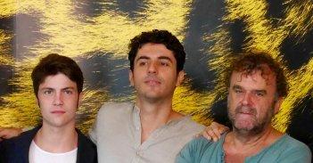 Glia steroidi: Germano Maccioni con Pippo Delbono e Riccardo Frascati