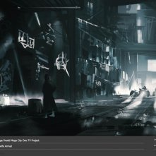 Judge Dredd: Mega City One, un concept art del film