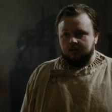 Il trono di spade: John Bradley in una scena dell'episodio Forte Orientale