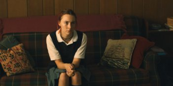 Lady Bird: una foto della protagonista Saoirse Ronan