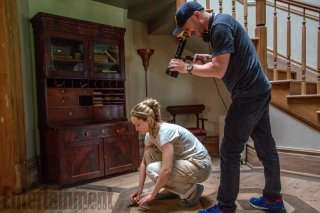 madre! - Jennifer Lawrence e Darren Aronofsky sul set del film