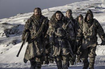 Il Trono di Spade: una foto del gruppo in missione tratta dall'episodio Oltre la Barriera