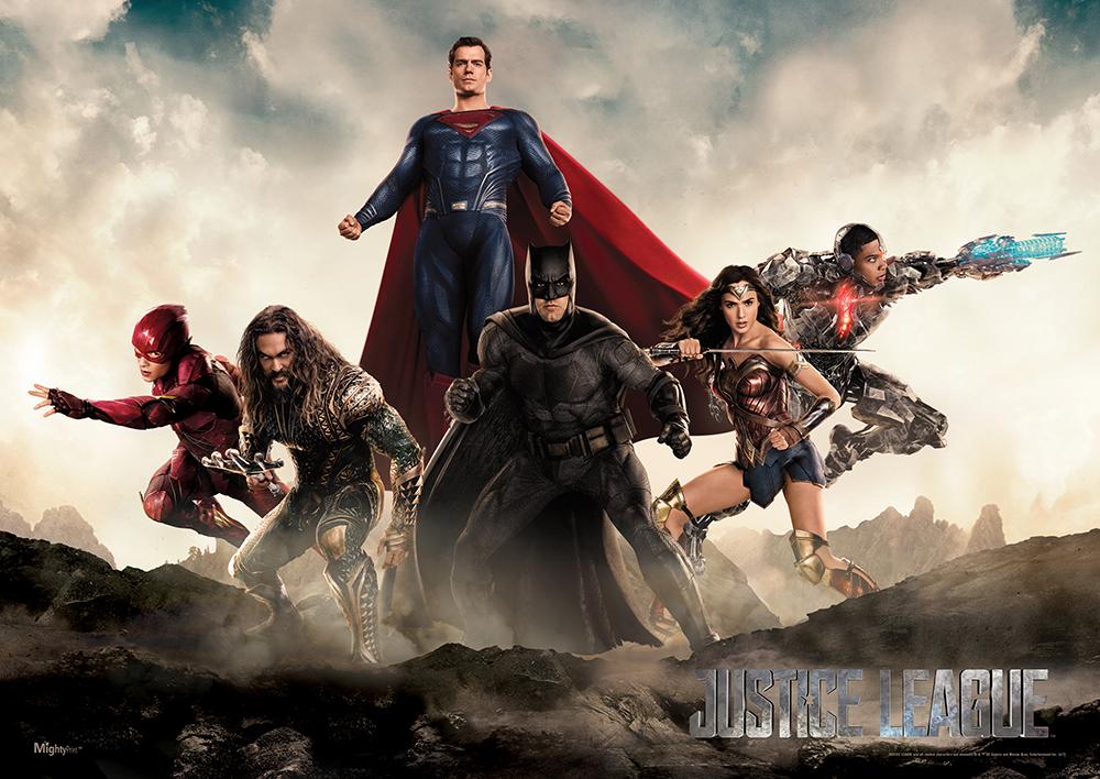 Justice League: un'immagine promozionale del film