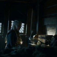Il trono di spade: Dany e Jon una scena dell'episodio Oltre la Barriera