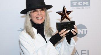 Diane Keaton riceve un premio dell'America Film Institute