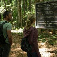 Jukai - La foresta dei suicidi: Yukiyoshi Ozawa, Taylor Kinney e Natalie Dormer in una scena del film