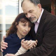 La Villa: Robinson Stévenin e Ariane Ascaride in una scena del film