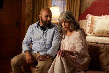 Le nostre anime di notte: Jane Fonda e il regista Ritesh Batra sul set del film