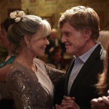 Le nostre anime di notte: Jane Fonda e Robert Redford insieme in una scena del film