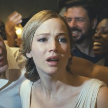 Madre! - Javier Bardem e Jennifer Lawrence in una foto del film