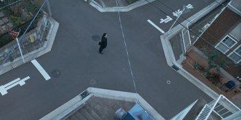 The Third Murder: Koji Yakusho in un'immagine dall'alto del film