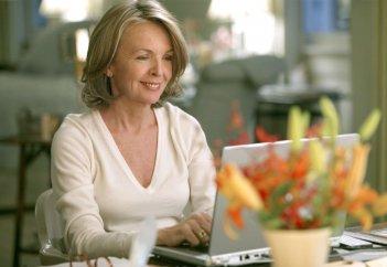 Tutto può succedere: Diane Keaton in un momento del film