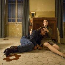 Dove cadono le ombre: Josafat Vagni e Federica Rossellini in un momento del film