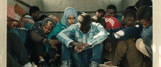 L'ordine delle cose: Yusra Warsama in una scena del film