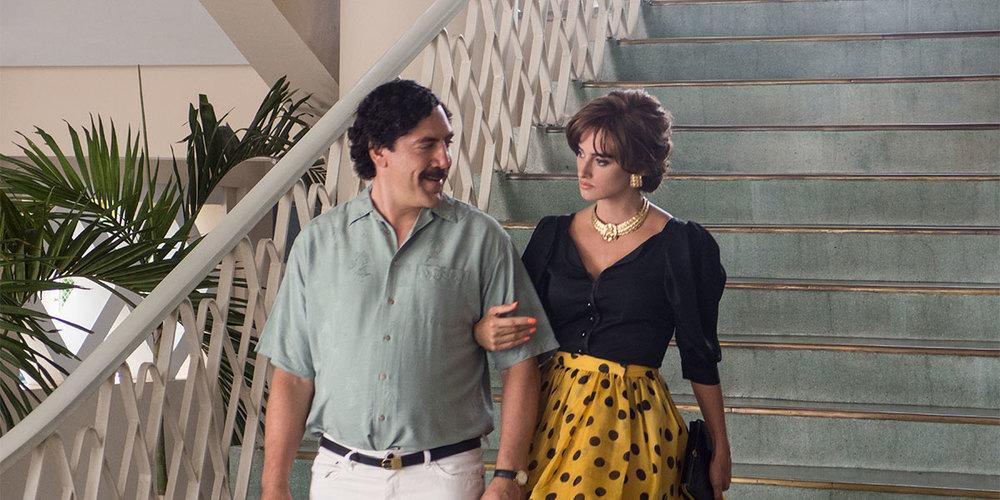 Loving Pablo: Javier Bardem e Penelope Cruz in una scena del film