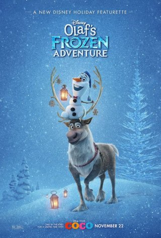 Olaf's Frozen Adventure: il poster della featurette