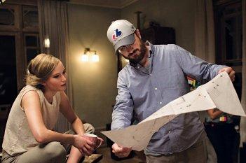 Madre!: Jennifer Lawrence e Darren Aronofsky preparano una scena