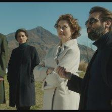 Dove non ho mai abitato: Emmanuelle Devos e Fabrizio Gifuni in una scena del film