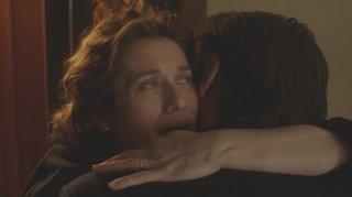 Dove non ho mai abitato: Emmanuelle Devos e Fabrizio Gifuni (di spalle) in un momento del film