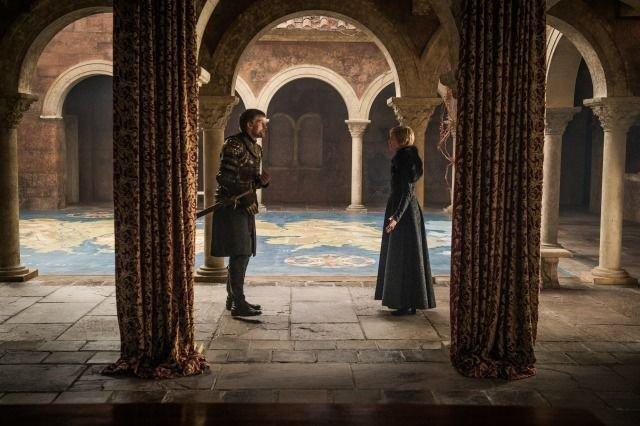 Il Trono di Spade: Jamie Lannister e Cersei in The Dragon and the Wolf