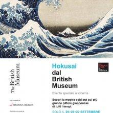 Locandina di Hokusai dal British Museum