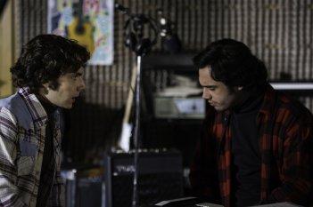 La musica del silenzio: Alessandro Sperduti e Toby Sebastian in una scena del film