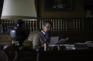 La musica del silenzio: Antonio Banderas in una scena del film
