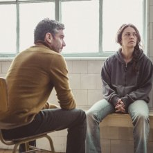 Neve nera: Dolores Fonzi e Leonardo Sbaraglia in una scena del film