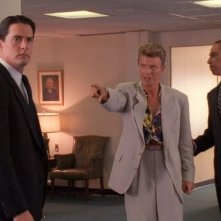 I segreti di Twin Peaks: Kyle MacLachlan con David Bowie e Miguel Ferrer