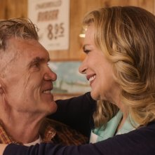 I segreti di Twin Peaks: Everett McGill e Peggy Lipton in una scena