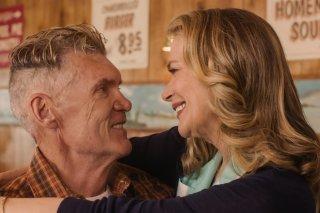 I segreti di Twin Peaks: Everett McGill e Peggy Lipton in una scena