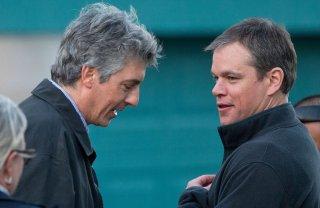 Downsizing: Matt Damon e il regista Alexander Payne sul set del film