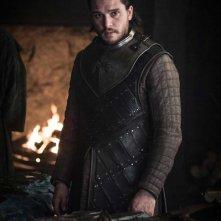 Il Trono di Spade: Jon Snow nell'episodio The Dragon and the Wolf