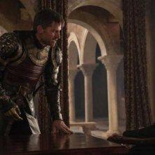 Il Trono di Spade: l'attore Nikolaj Coster-Waldau nell'episodio The Dragon and the Wolf
