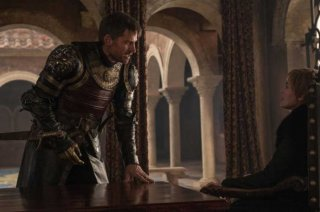 Il Trono di Spade: l'attore Nikolaj Coster-Waldau nell'episodio The Dragon and the Wolf