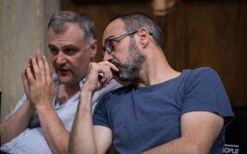 Il miracolo: Niccolò Ammaniti sul set della fiction