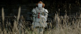 It: Bill Skarsgard in una foto del film