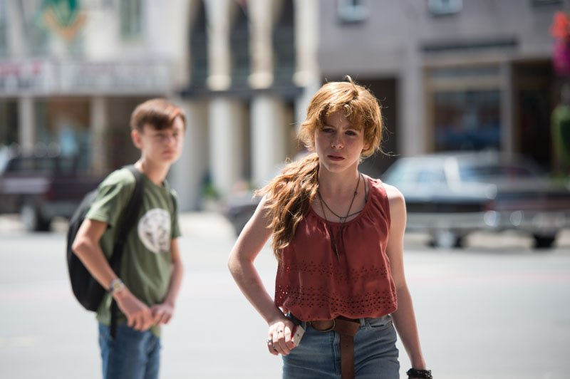 It: l'attrice Beverly Marsh in una foto del film
