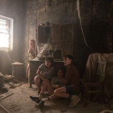 It: una scena di terrore con protagonisti i giovani protagonisti