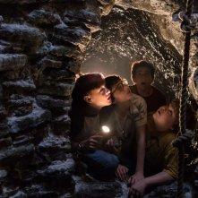 It: una foto dei giovani protagonisti del film